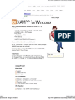 apache friends - xampp for