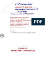 Cours Immunologie Pr Mohammed El Azami El Idrissi (Fmpf)