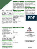 Folder do Curso Especializacao ufpa