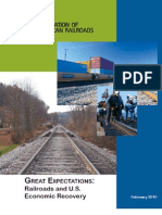 AAR Report on US Railroads and Ecnomic Recovery 2010