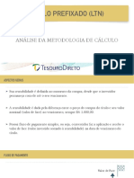LTN - Metodologia do Tesouro Direto