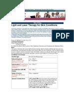 Light laser derma Oxford Health Plans