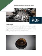 10 Problemas que son comunes en los motores diésel