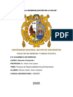 PROYECTO DE RESPONSABILIDAD SOCIAL EMPRESARIAL ARIAN GOMEZ CASTRO