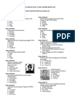 Latihan Soal Ujian Akhir Sekolah _ IPS 02