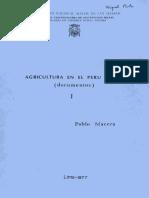 1977 - Macera, Pablo - Agricultura en el Perú, siglo XX (Documentos), T. I.pdf
