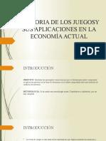 LA TEORIA DE LOS JUEGOSY SUS APLICACIONES