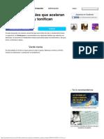 8Bebidas naturales que aceleran tumetabolismo ytonifican tufigura