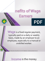 Benefits of Wage Earner, Taxable and Non-taxable Benefits