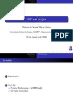 RNP em Sergipe