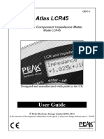 User Guide-Peak Atlas LCR45