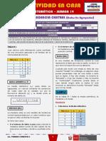 SEMANA 19 - MEDIDAS DE TENDENCIA CENTRAL (Datos No Agrupados) [5to MATEMÁTICA]