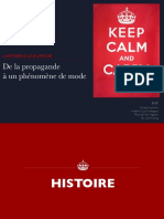 """Analyse de l'affiche """"Keep Calm and Carry On"""""""