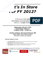 Whats in Store for FY12 03-09-11