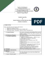 DRR Module 2 Detailed Lesson Plan