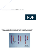 aberatii structural cromozomale
