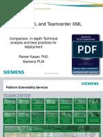 PLM XML and Teamcenter XML