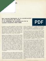 45873102 Las Nuevas Tipologias en La Construccion de La Barcelona de Cerda o Un Catalogo de Arquitectura de La Ciudad Industrial 1855 1888