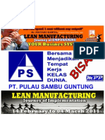Psg Bisa Lean @LEAN MANUFACTURING IMPLEMENTATION