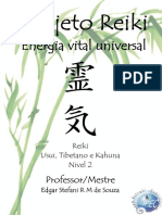Projeto Reiki - Energia Vital Universal (Nvel 2)