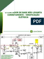 101-O CORTADOR DE BASE NÃO LEVANTA CORRETAMENTE - VERIFICAÇÃO ELÉTRICA
