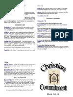 Sermon Notes February 20 2011