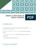 Nodule thyroïdien