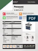 Fichas Tecnicas Panasonic