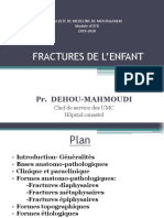 03 FRACTURE DE LENFANT  Dehou-Mahmoudi
