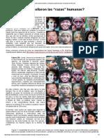 """¿Cómo se desarrollaron las """"razas"""" humanas"""