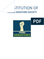 Constitution of Young Senators Society