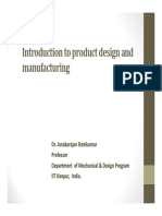 1. Introduction to product design and manufacturing