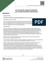 Decreto 1041-2020 Defensa de Los Activos Del FGS