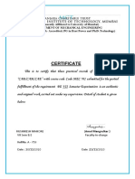 A719 CERT AND INDEX