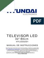 Manual HYLED32D1