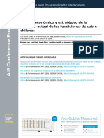 Economic and strategic analysis of the current situation of Chilean copper smelters ES