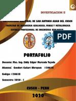 PORTAFOLIO PRIMER PARCIAL INVESTIGACION II_ CONDORI CAÑARI BHRAYAM_120638.pdf