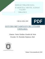 Estudio metabolico_Urolitiasis