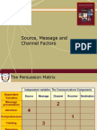 00 Persuasion - Source Message Channels