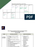 CAT 2020 - Calendário e Matrizes das Provas de Aferição