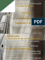Avalúos de bienes inmuebles - Introducción a la valuación y la legislación