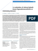 [2010] Ultrasonographic evaluation of adrenal glands in dogs with primary hypoadrenocorticism or mimicking diseases