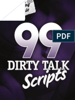 99 Dirty Talk Scripts