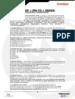 PM TO DEPEN PCDF QUESTÕES COMENTADAS pdf