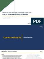 10 - Estudos do Plano Decenal de Expansão de Energia 2030 – Preços e Demanda de Gás Natural