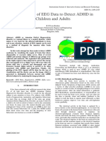 Visualization of EEG Data to Detect ADHD in Children and Adults