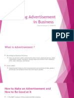 Creating Advertisement in Business