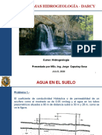 Problemas Hidrogeologia - Darcy  JULIO2020.pptx