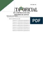 GACETA EXT 73 Resoluciones del Banco