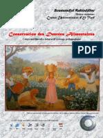 cours isaet conservation denrées animales